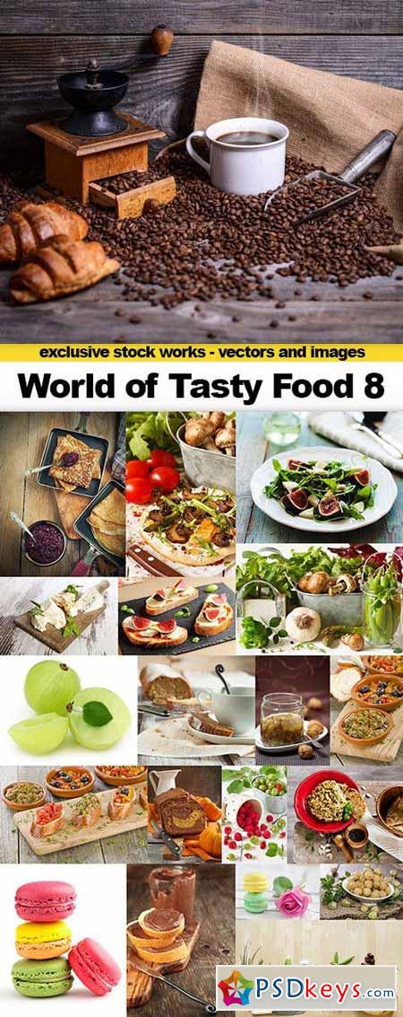 World of Tasty Food 8 - 20x UHQ JPEG