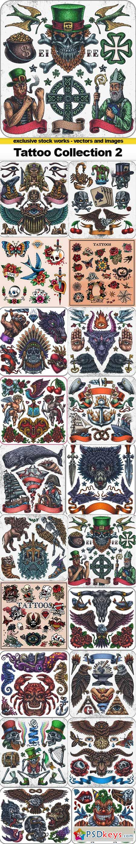 Tattoo Collection 2 - 20x EPS
