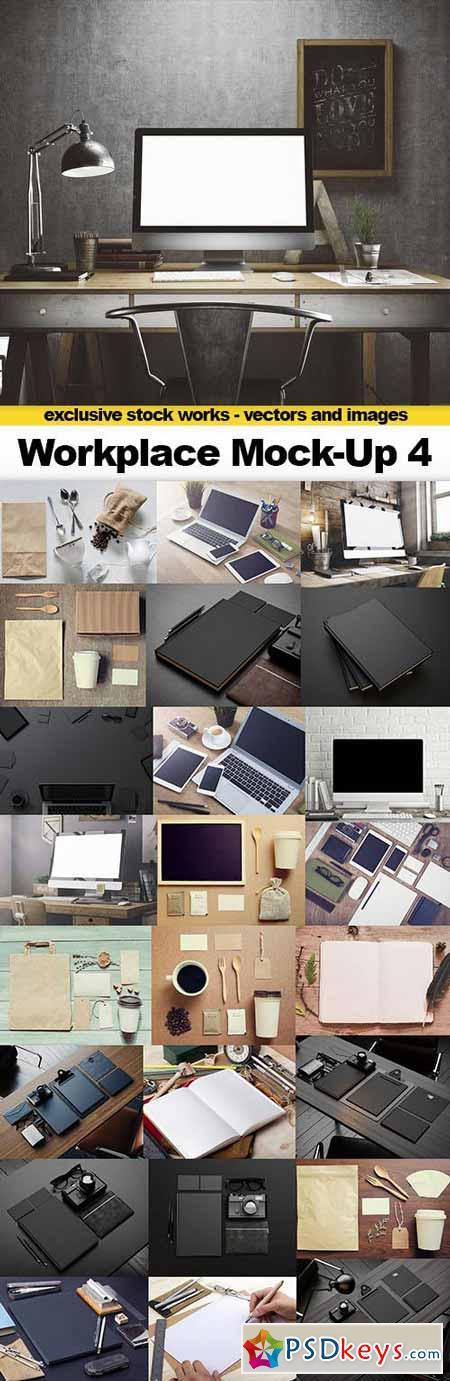 Workplace Mock-Up 4 - 25xJPEGs