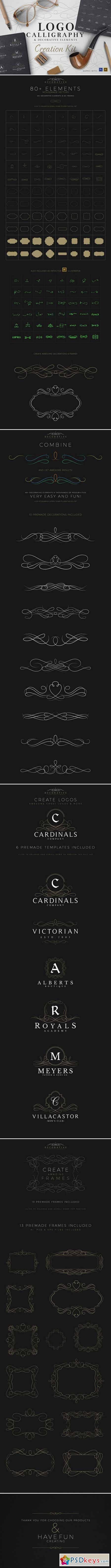 Calligraphy & Logo Creation Kit 452060