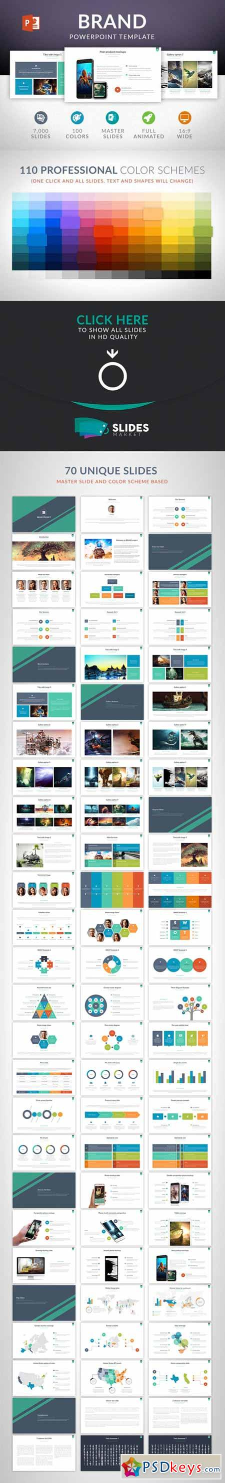Brand Powerpoint Template 412654