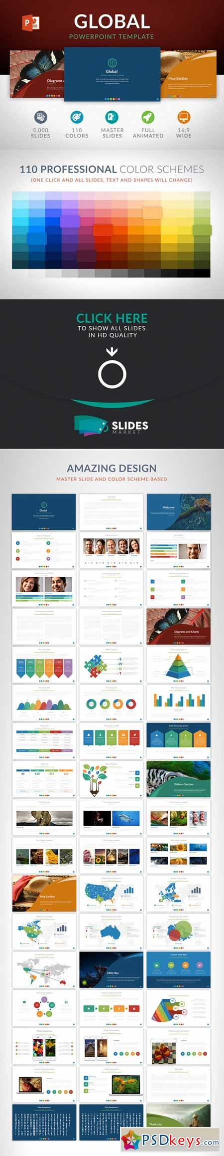 Global Powerpoint Template 412799