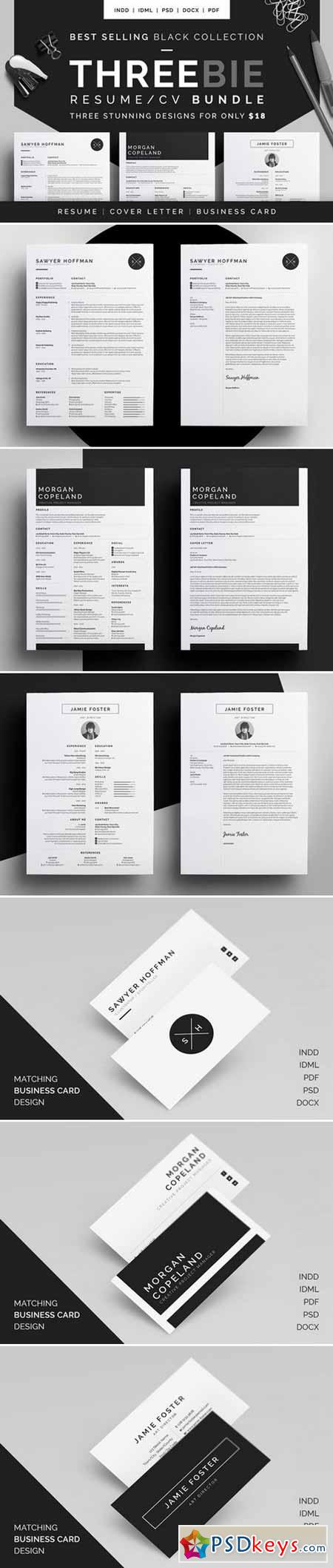 Resume CV - Threebie Bundle 1 433128