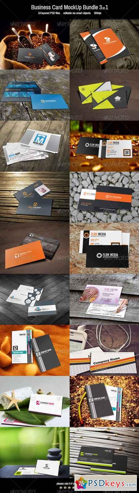 Mockup bundle free download photoshop vector stock image via business card mockup bundle 3in1 7254693 reheart Images