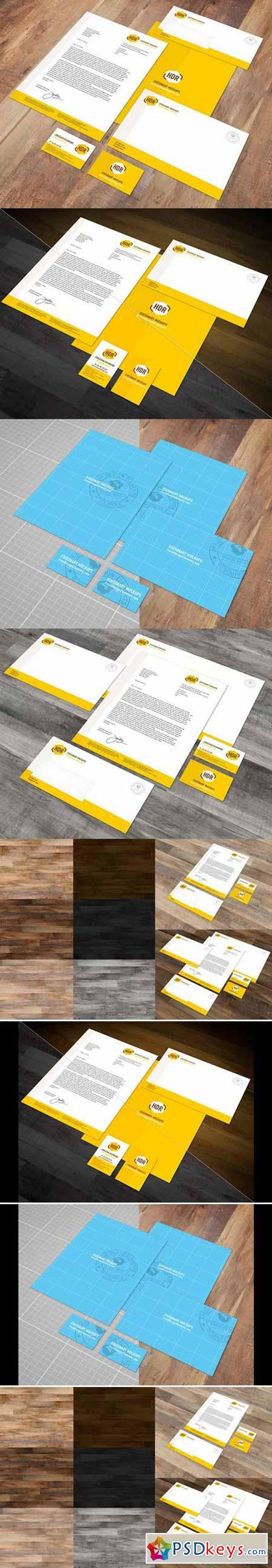 Euro Stationary Mockup Vol. 1 73201