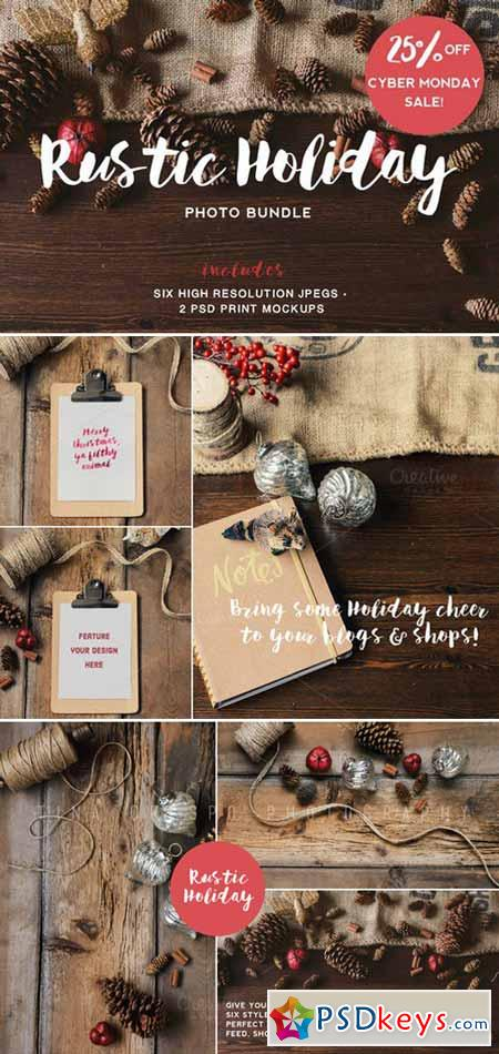 Rustic Holiday Photo Bundle 455121