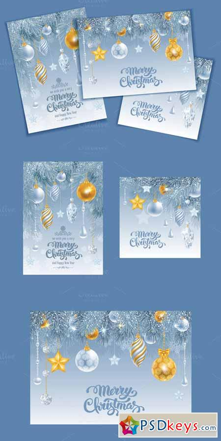 Christmas luxury cards set 454900