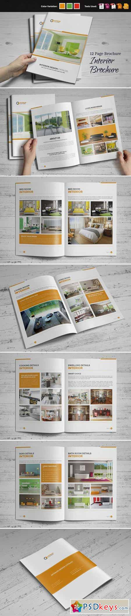Interior Brochure InDesign v.2 459060