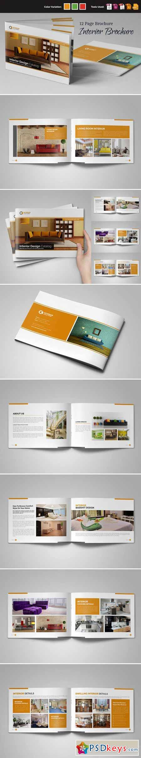 Interior Brochure InDesign v.1 459054