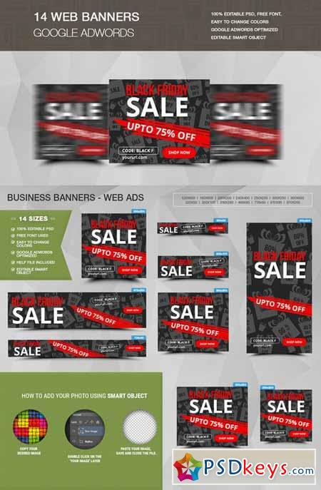 Black Friday Sale Banners 450155
