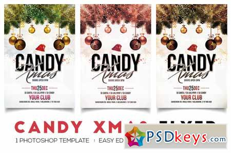 Candy Xmas - Christmas Flyer 459969