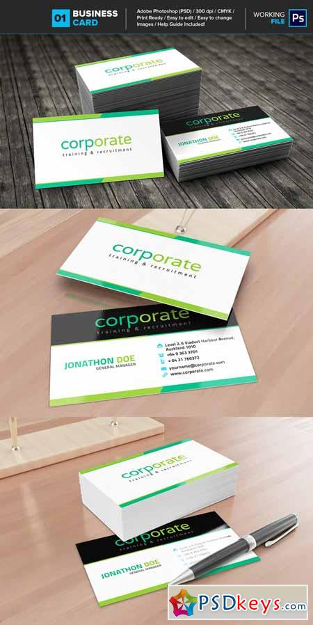 Professional Business Card 01 463110