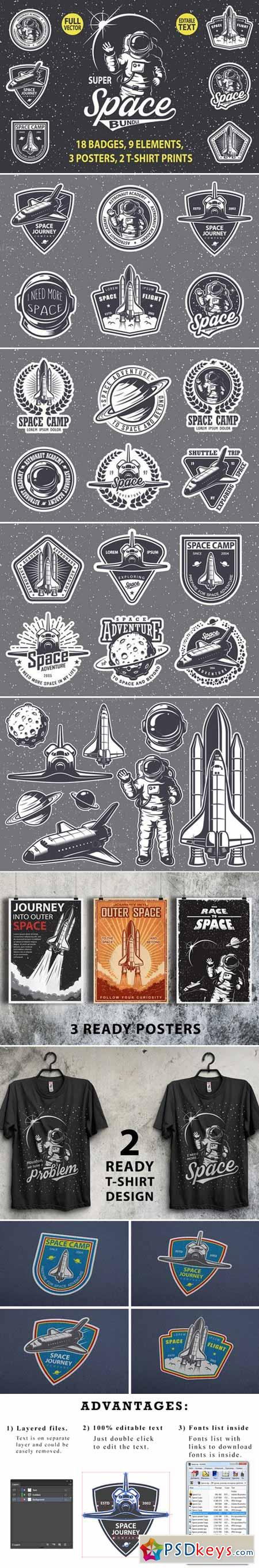 Super space bundle 460513