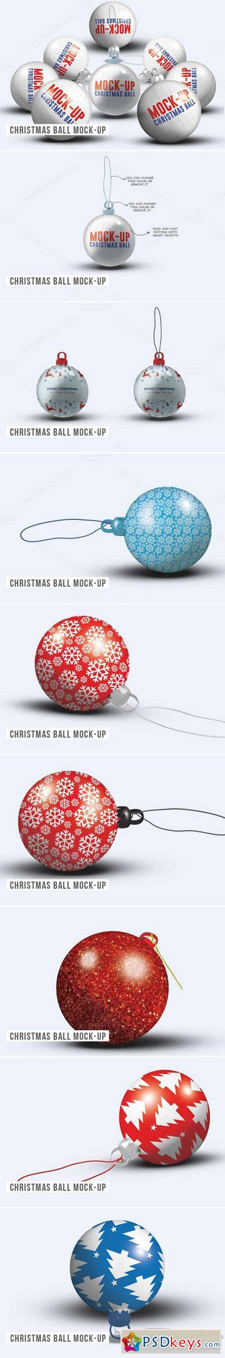 Christmas Ball Mock-up 466035