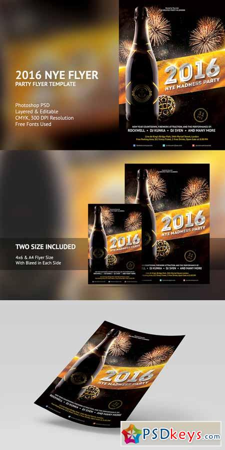 2016 new years eve flyer template 464580 free download photoshop 2016 new years eve flyer template 464580 saigontimesfo