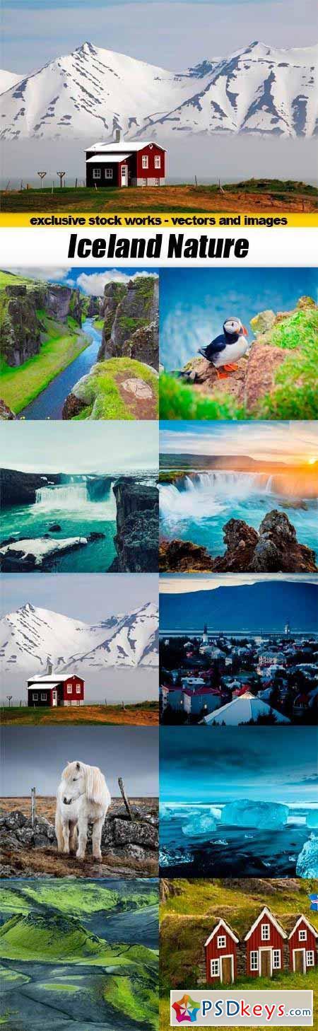 Iceland Nature - 10x JPEG