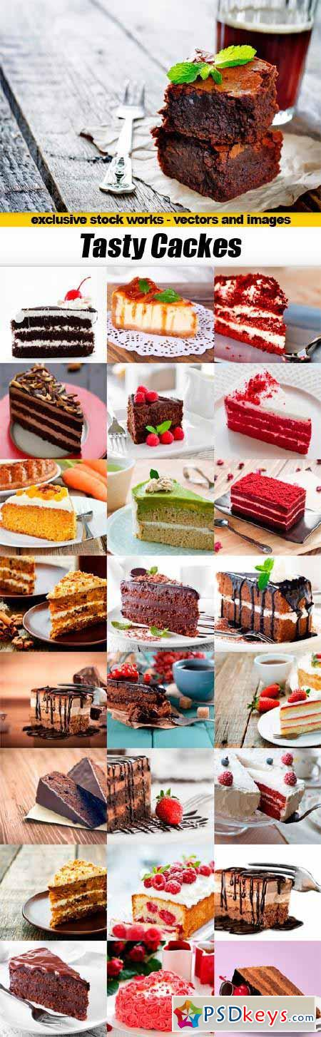 Tasty Cakes - 25x JPEGs