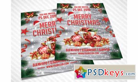 Merry Christmas Flyer 467571