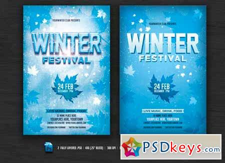 Winter Festival Flyer 468393