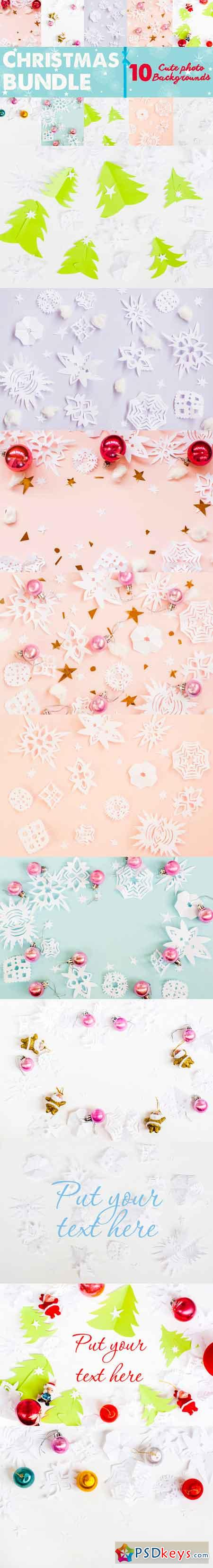 Christmas bundle paper snowflakes 466960