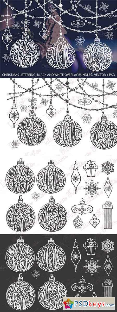 Christmas Ball Lettering Set 466795