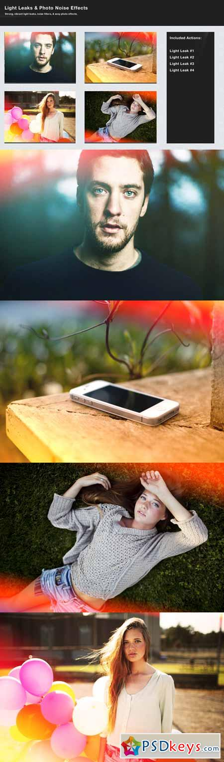 Light Leaks & Photo Noise Effects 796