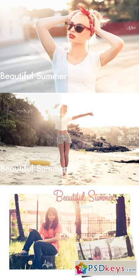 Beautiful Summer - Lightroom Preset 4010