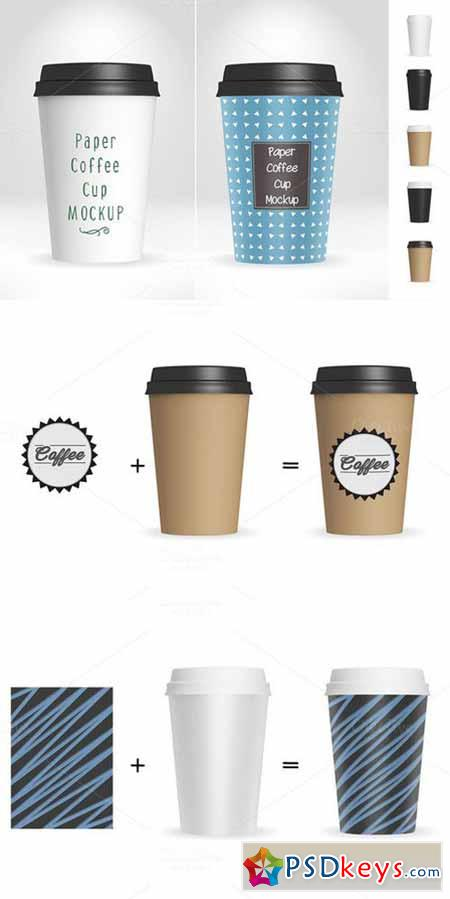 Paper Coffee Cup Mockup V1 475485