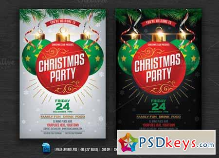 Christmas Party Flyer 419162