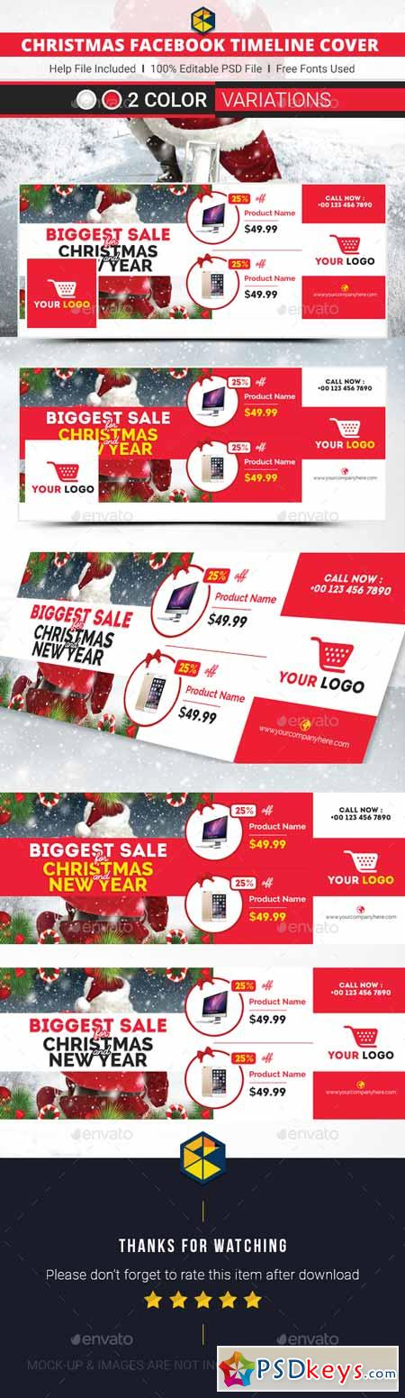 Christmas Cover Templates 13889133