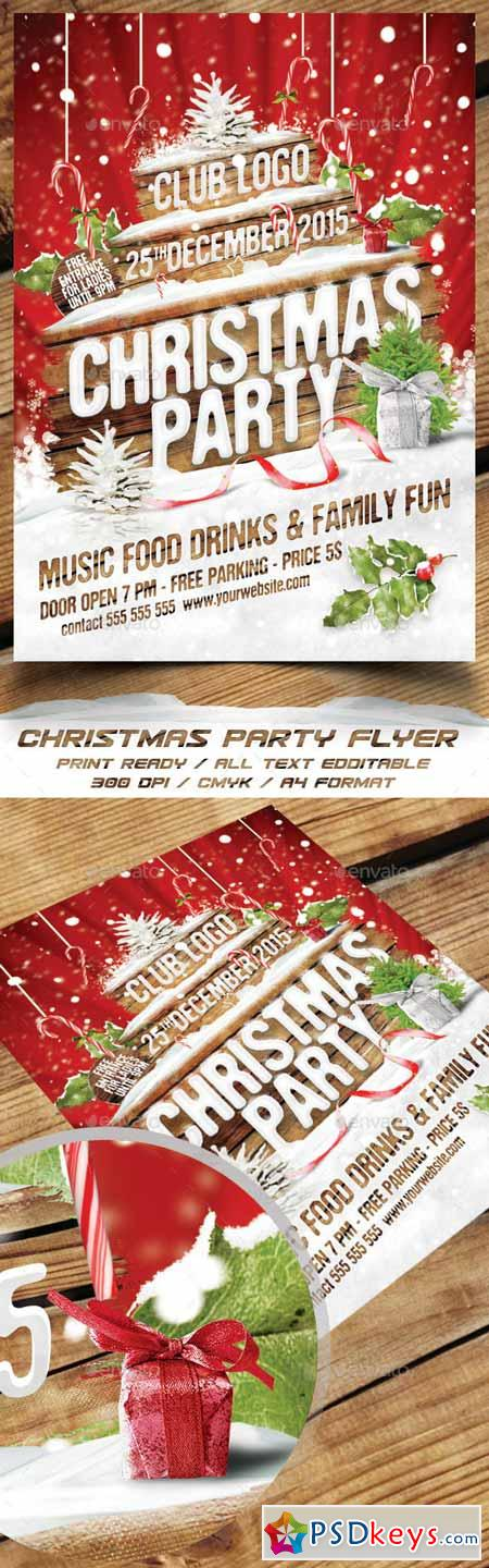Christmas Party Flyer 13853857