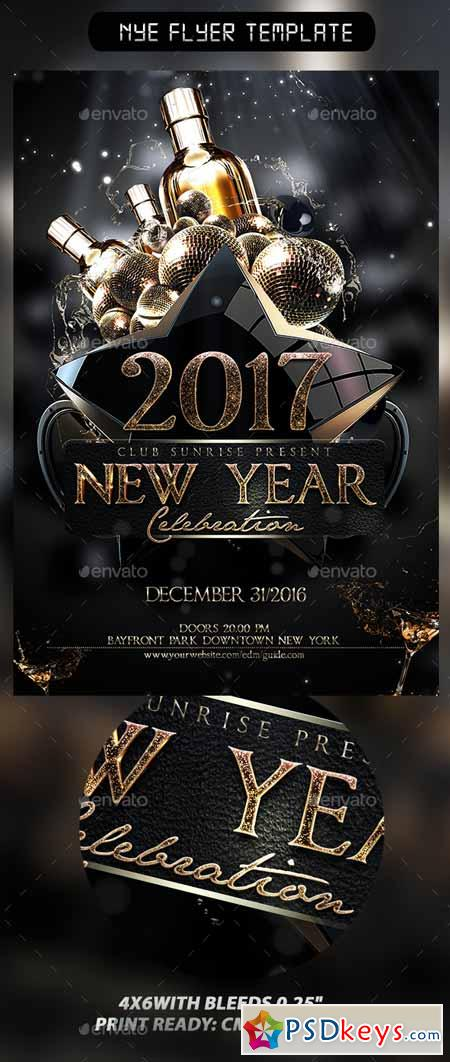 NYE Flyer Template 13528154