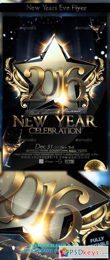 New Years Eve Flyer 12739906