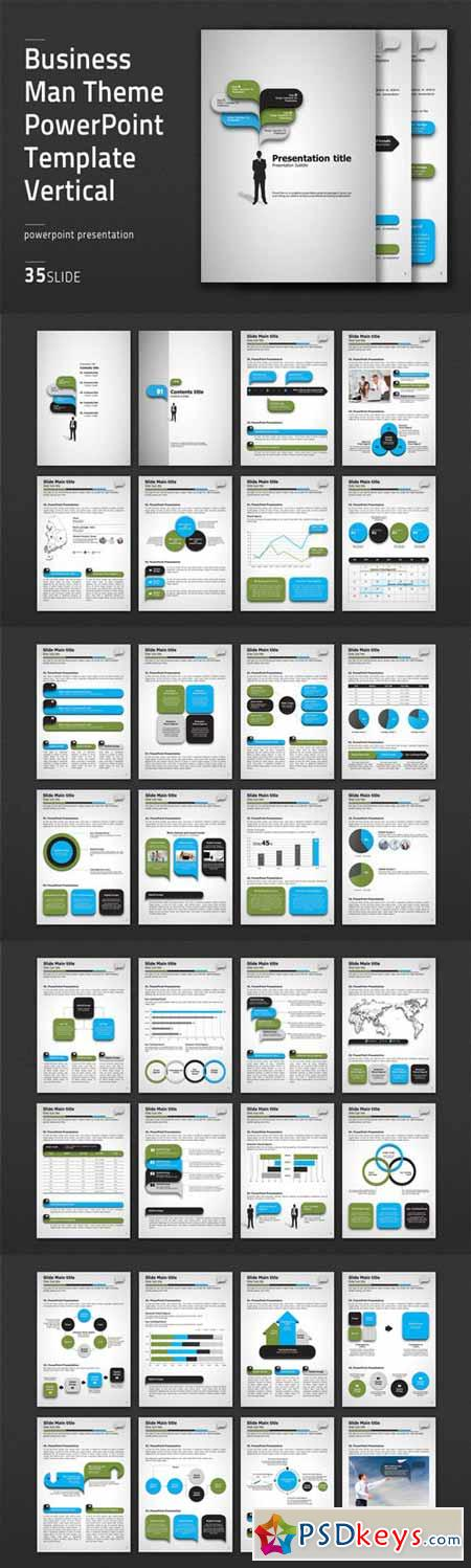 Business man theme ppt vertical 474569 free download for Powerpoint templates torrents