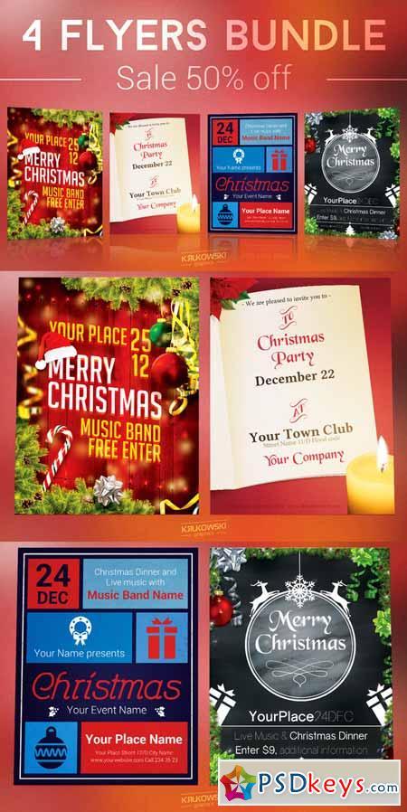 christmas flyers bundle 475558 - Christmas Music Torrent