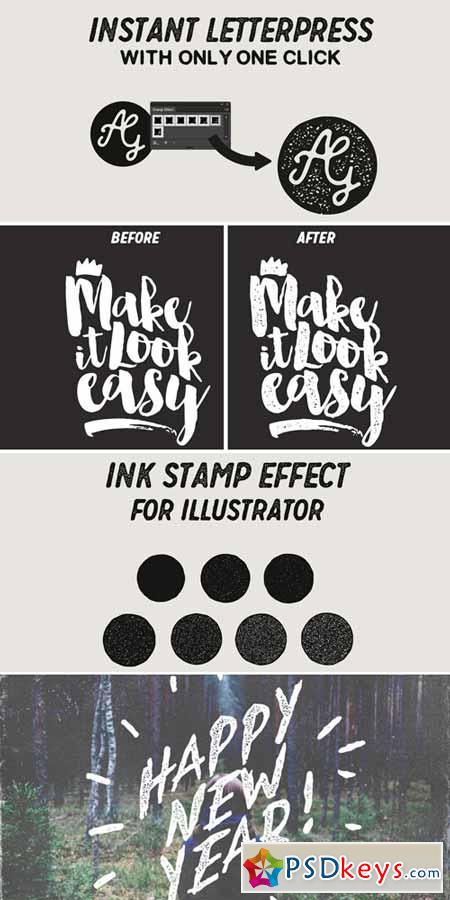 Ink Stamp Effect 434113