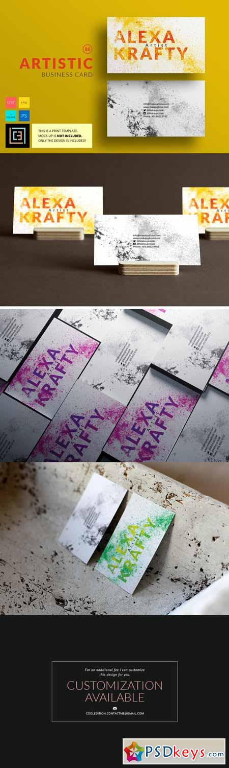 Artistic - Business Card 86 477790