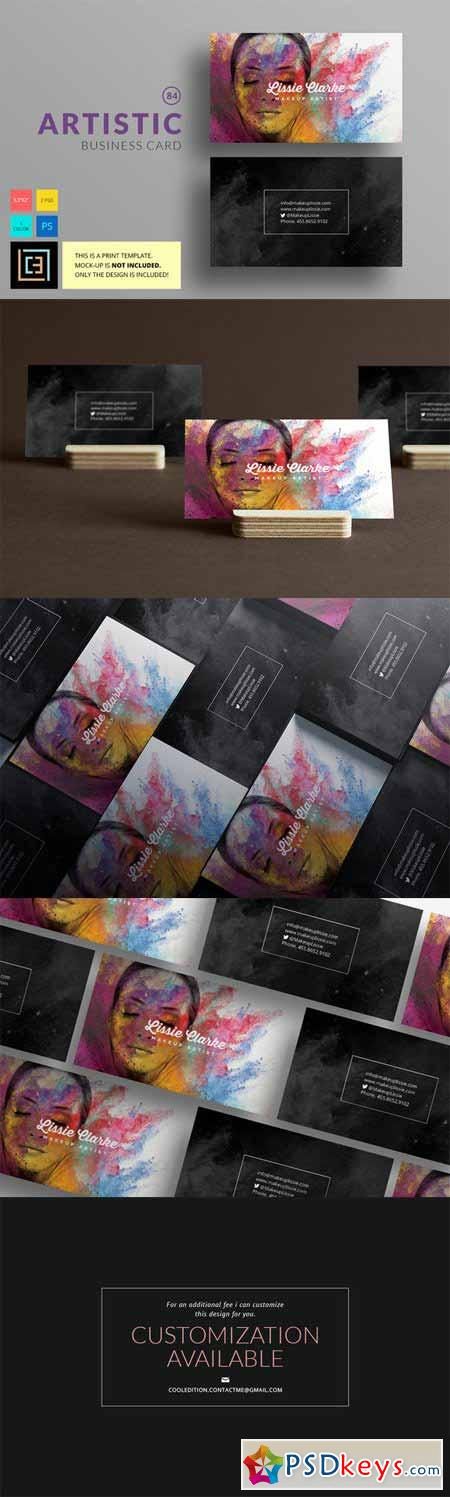 Artistic - Business Card 84 474327