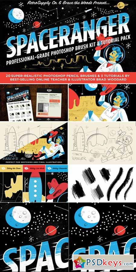 SpaceRanger Brush Kit & Tutorials 471591