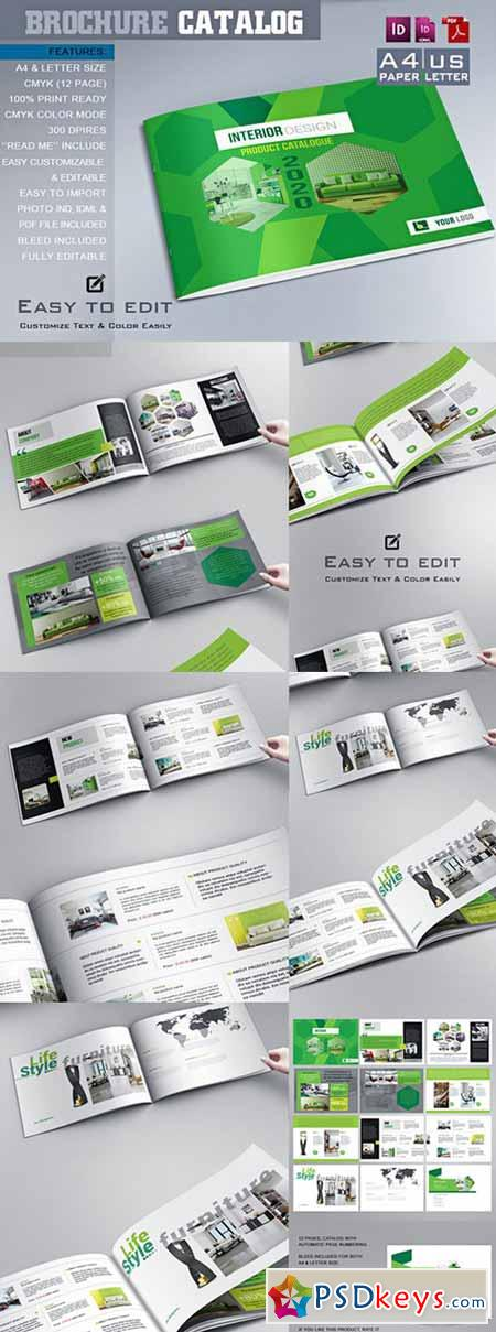 Interior Brochure Catalog Templ 476307