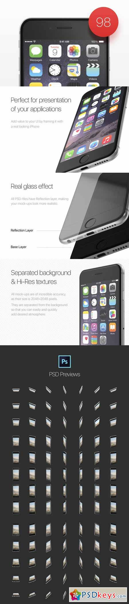 98 perfect iPhone 6 mockups 434448