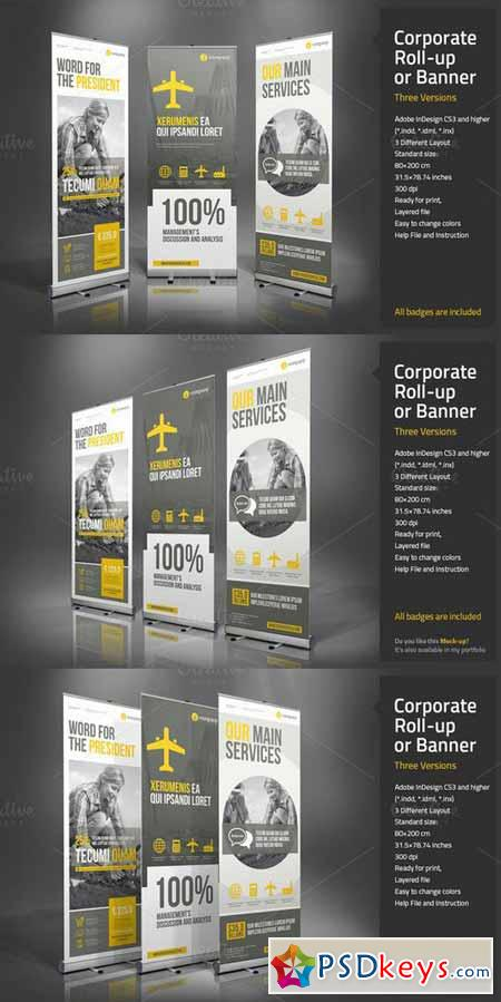 Corporate Roll-up or Banner 457342