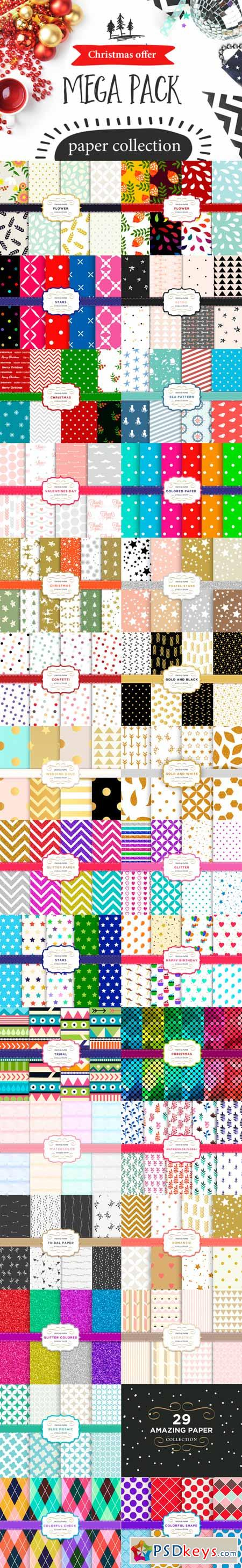 Pattern pack - paper collection 461148