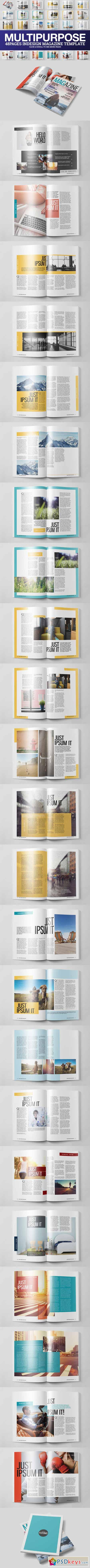 Multipurpose Magazine 3 Template 478814