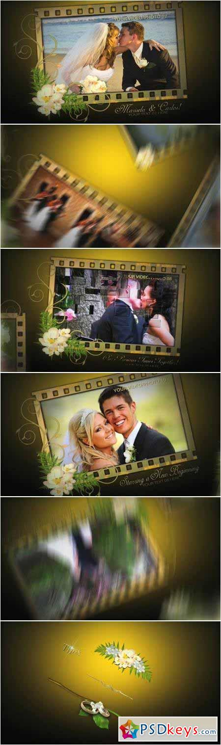 Our Wedding Film Memories 58215688 - After Effects Projects