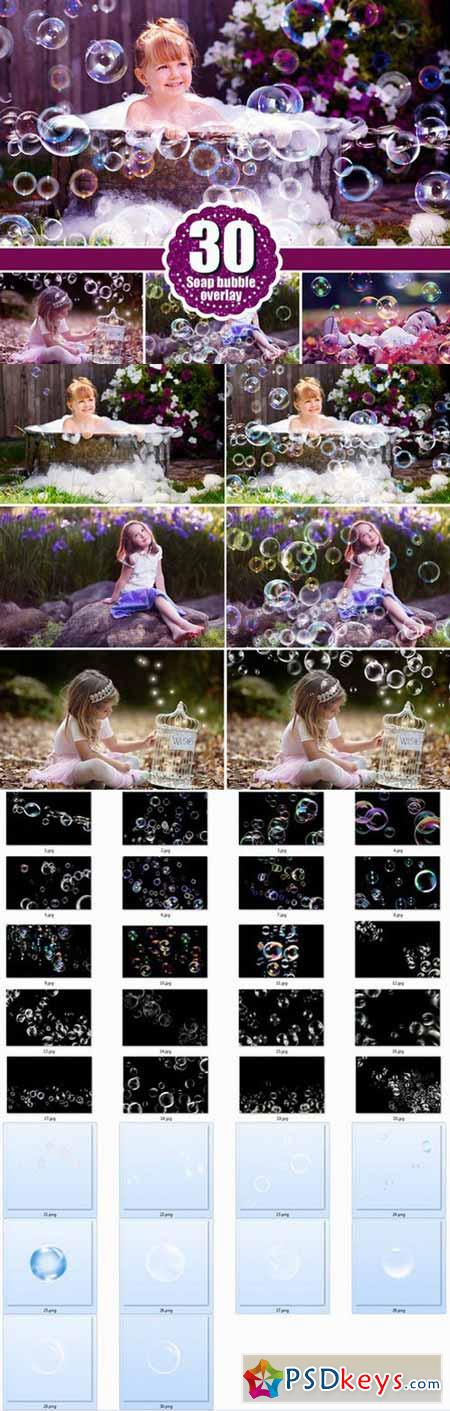 Bubbles photoshop overlays 479199