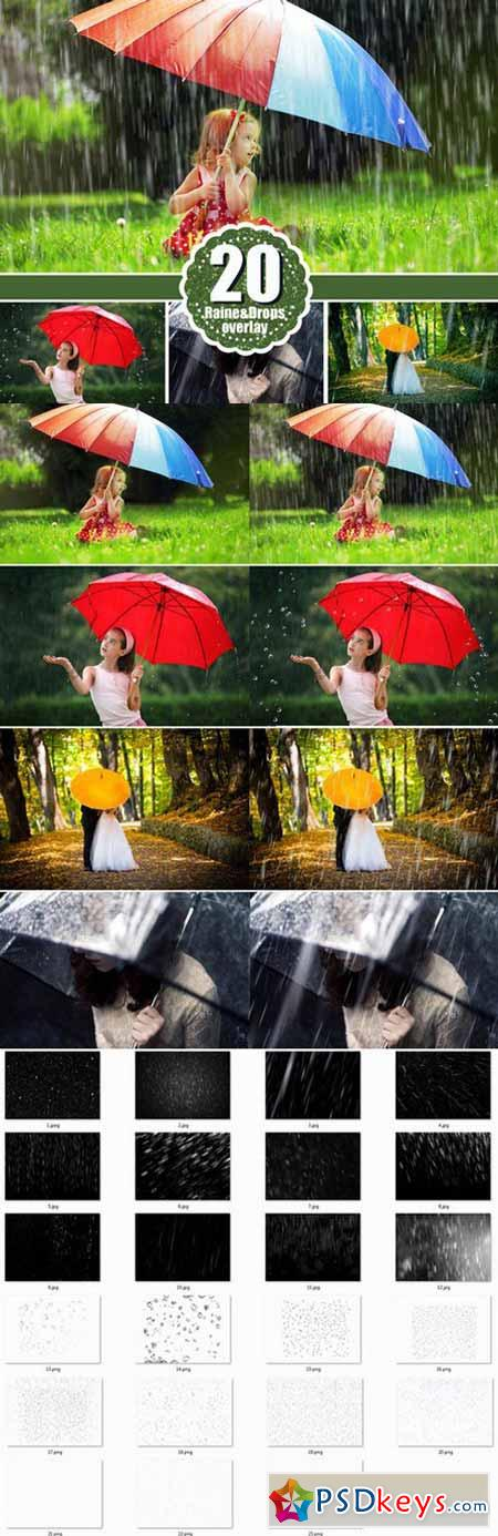 Rain photoshop overlays overlay 479046