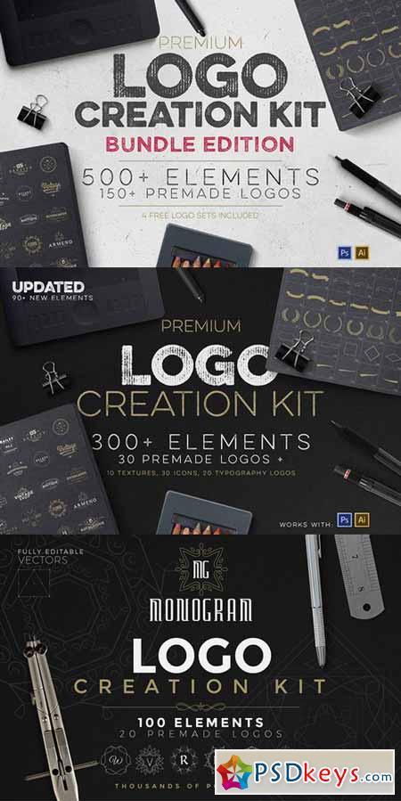 Logo Creation Kit Bundle Edition 490891 » Free Download