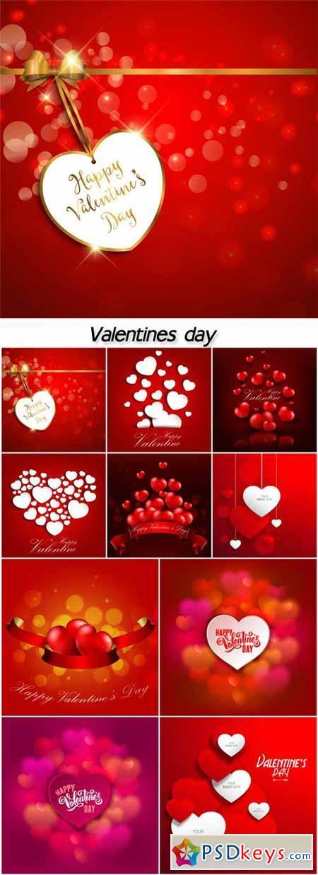 Valentines day, heart, label, background
