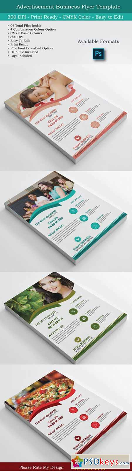 Small Business Flyer & Logo Design 489744